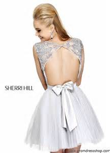 Pics photos home sherri hill dresses purple short beading waist