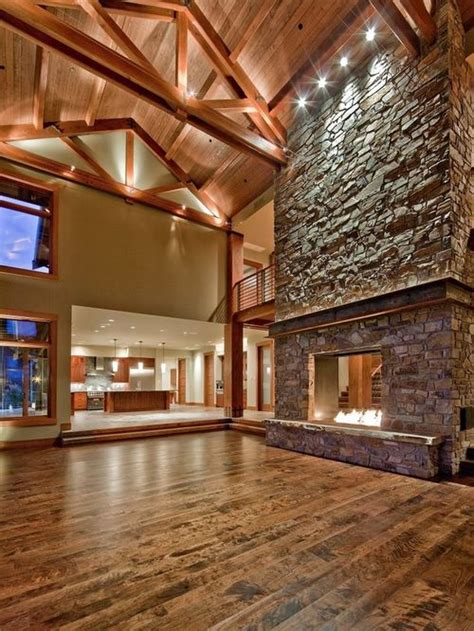 Fieldstone Homes Floor Plans by Two Story Stone Fireplace Ideas Pictures Remodel And Decor
