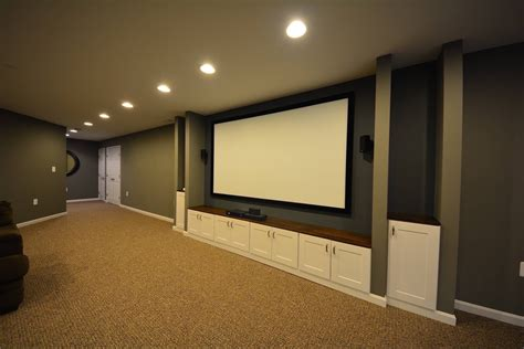basement entertainment room ideas basic media rooms basement finishing and remodeling in