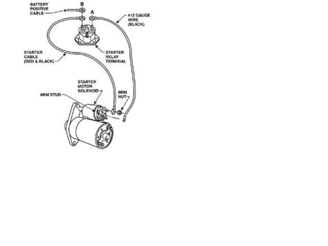 gm powermaster starter wiring gm free engine image for user manual