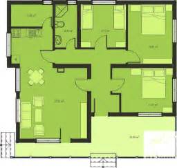 Three Bedroomed House Plan Plans Dezignes More Wood Bench House Plans 3 Bedroom