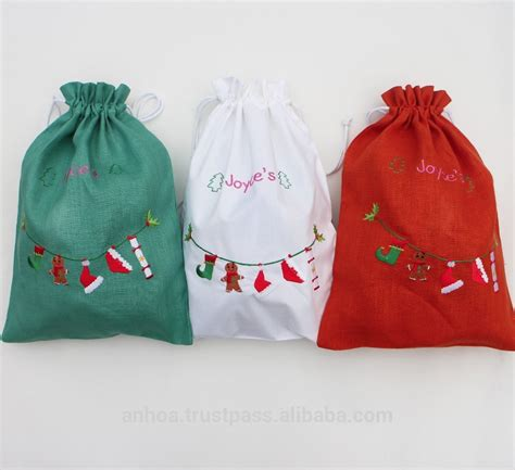 drawstring christmas bags dayony bag