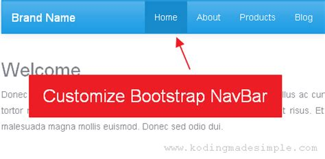 bootstrap navbar tutorial point how to easily add custom css to bootstrap with exles