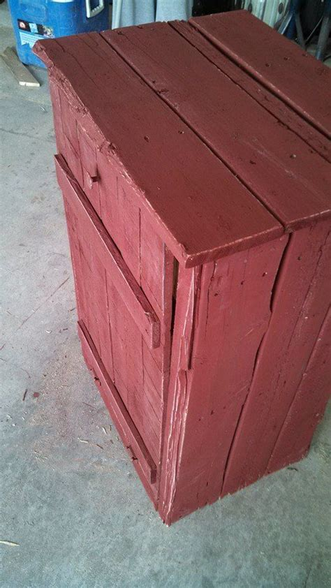 trash can cabinet outdoor 12 best images about pallet trash can holder on pinterest