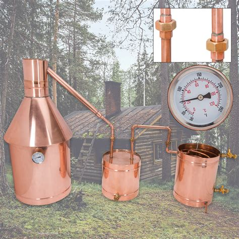 backyard moonshine still 10 gallon large copper moonshine still with upgrades