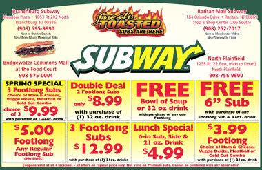 Subway Gift Card Deals - subway coupon free for june coupon pictures pinterest printable subway coupons