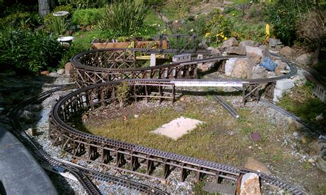 backyard railroads model railroads in the backyard the redwood empire garden