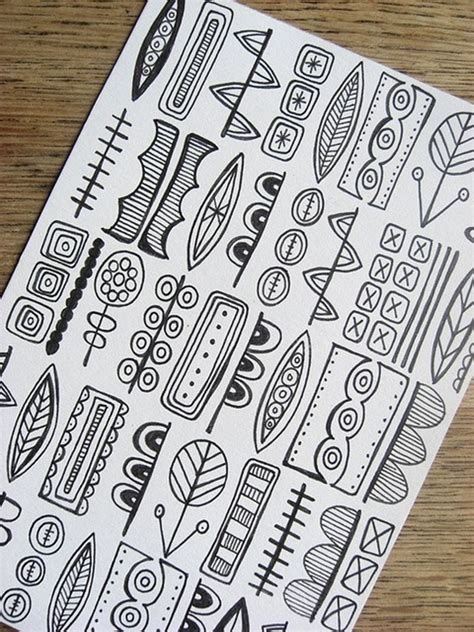 40 Beautiful Doodle Ideas Bored