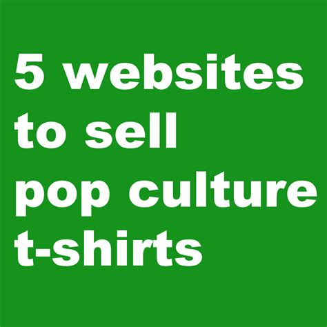 Kaos T Shirt Pop Culture 05 5 wesbites to sell pop culture t shirts the shirt list