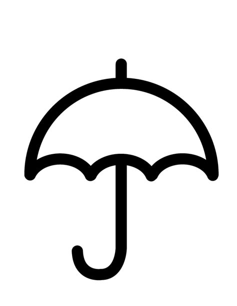 umbrella top coloring page umbrella coloring sheet clipart best