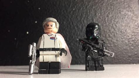 Orson Krennic Minifigure Starwars Lego Minifigure one krennic and trooper lego custom