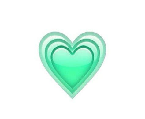 green heart whatsapp emoji emoticons clipart