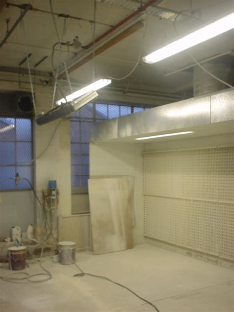 spray zone paint booth woodfinishing drying ovens