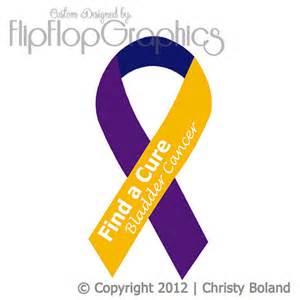 bladder cancer color items similar to bladder cancer awareness ribbon vinyl