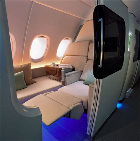 Airbus A380 1st Class Cabin by Airbus A380 Cabin In Dreams
