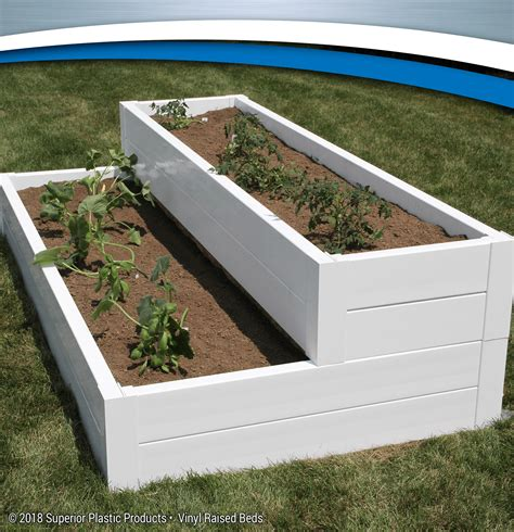 vinyl raised garden beds quality vinyl raised beds superior plastic products