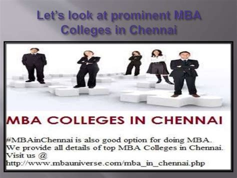 Mba Teaching In Chennai by Let S Look At Prominent Mba Colleges In Chennai