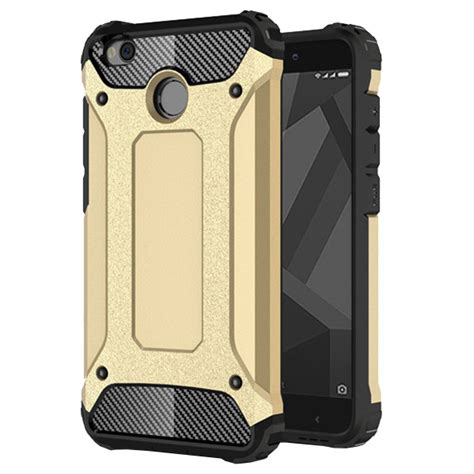 Xiaomi Redmi 4 Prime Pro Rugged Armor Hybrid Soft Casing hybrid armor tough rugged cover for xiaomi redmi 4x golden gold hurtel pl gsm wholesale