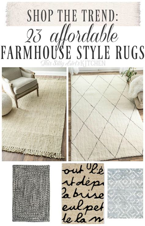 farmhouse area rugs shop the trend 23 affordable farmhouse style rugs this
