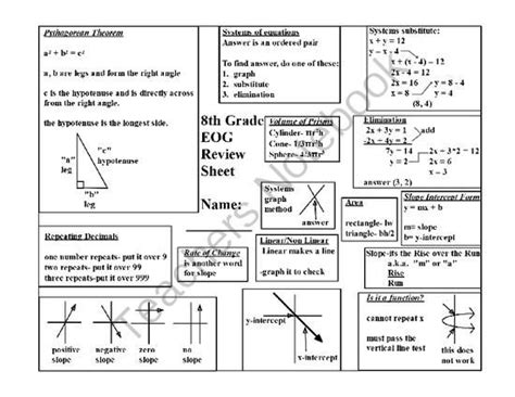 8th Grade Math Review Worksheets by 7th Grade Math Staar Review Worksheets 7th Grade Math