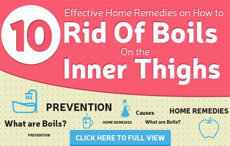 13 effective home remedies to get rid of boils on the
