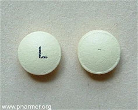 L On by Yellow Pill With L On It Pharmer Org