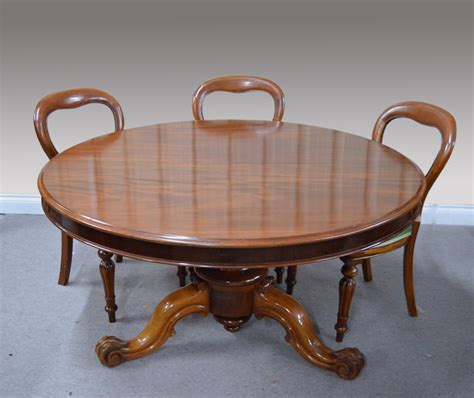 Large Circular Dining Table Large Circular Antique Mahogany Dining Table Coma Frique Studio 3c0fc3d1776b