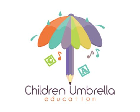 logo design sles for education children umbrella education designed by dalia brandcrowd