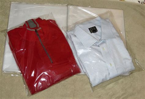 Polybag 12 X 15 25 clear 12 x 15 poly t shirt plastic bags 2 quot flap lock