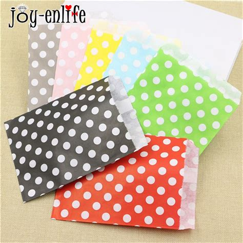 cheap 25pcs candy bag gift bags paper pouches sweet favour