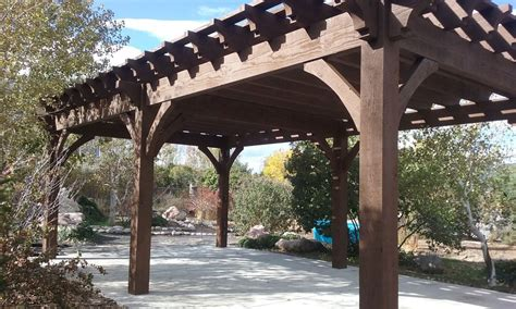 a frame pergola plan for a carefree easy diy project 16 x 28 timber