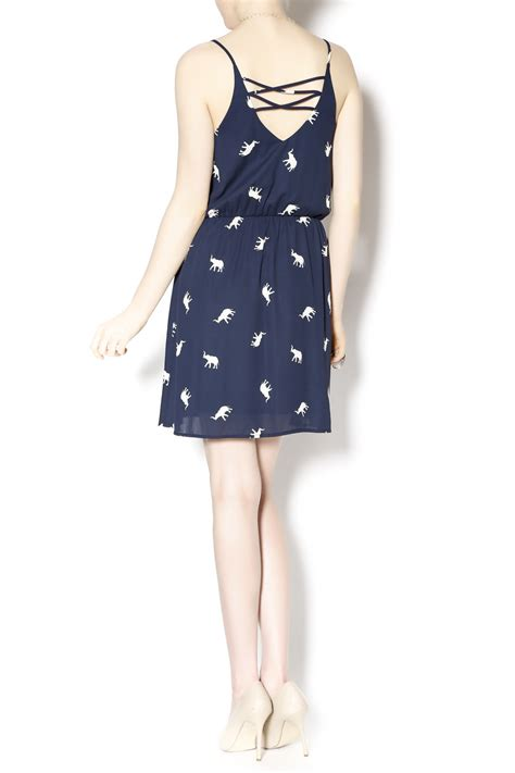 Elephant Dress everly elephant print dress from west by pink