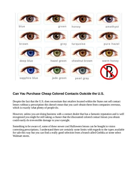 where do they sell colored contacts are cheap colored contacts dangerous