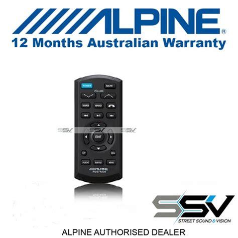 alpine rue 4350 ir wireless remote rue4350