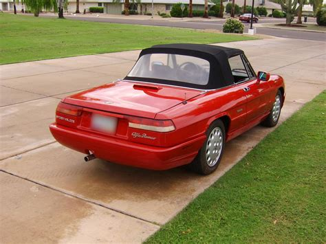 free auto repair manuals 1993 alfa romeo spider engine control service manual 1993 alfa romeo spider remove and replace rear hub assembly replace pinion