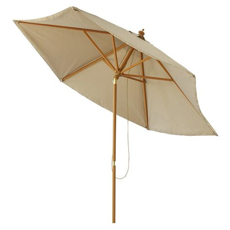 Parasol Inclinable parasol inclinable en tissu et aluminium taupe palma