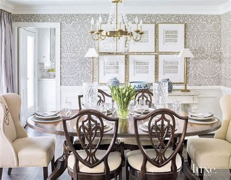 wallpaper dining room ideas best 25 dining room wallpaper ideas on room