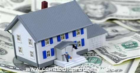 loan real estate in cambodia cambodia property