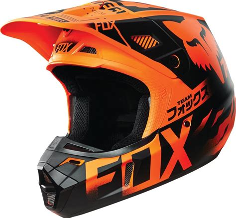 fox helmet 179 08 fox racing v2 union dot helmet 234771