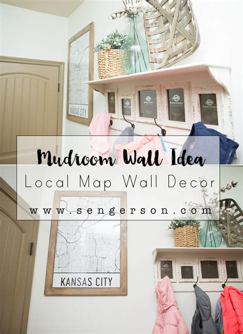 wall decor for laundry room mudroom laundry room map decor idea