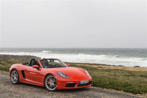lava orange porsche 2017 porsche 718 boxster review gtspirit