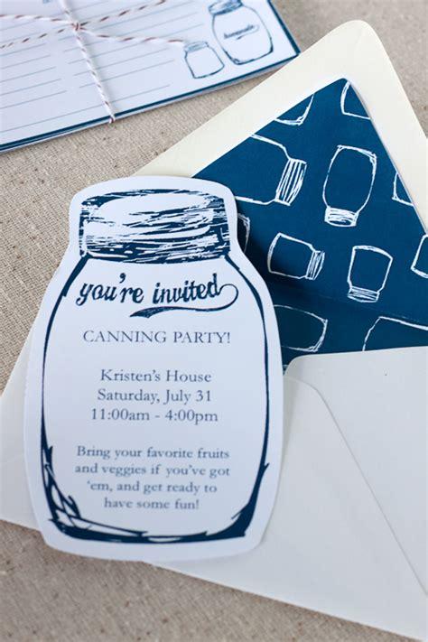 free printable mason jar invitations wedding party