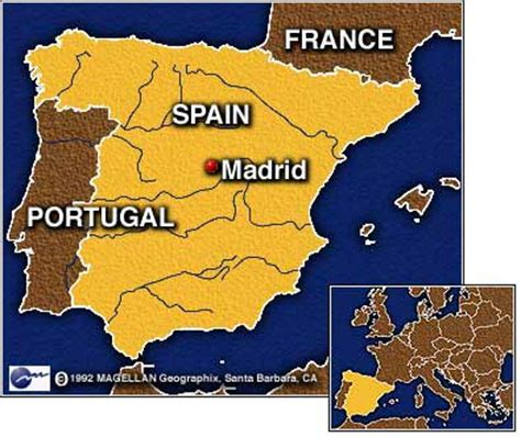 madrid spain on world map cnn bush faces protests on europe trip june 12 2001