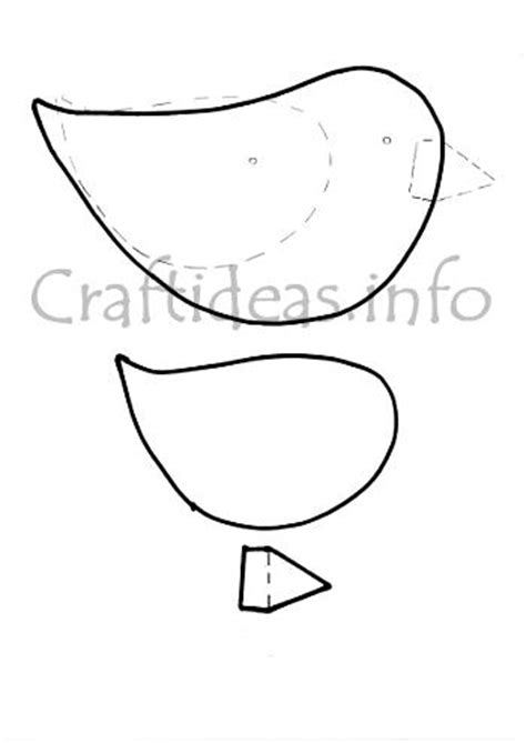 bird craft template template bird craft related keywords template bird craft