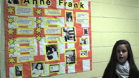 anne frank biography book report live wax museum anne frank youtube