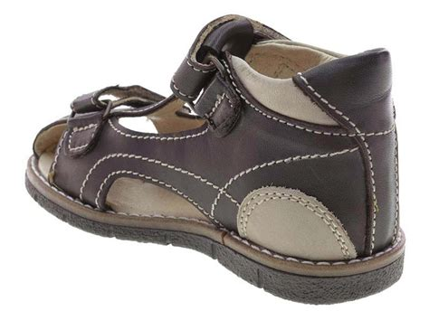 boys brown sandals brown leather closed toe toddler boys sandals size 9 5