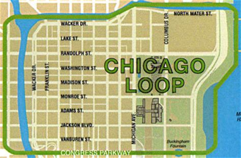 chicago map of the loop loop emerging from difficult times study finds loop