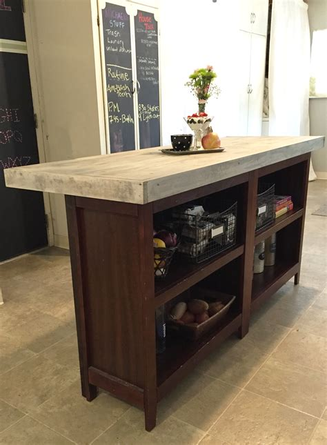 diy kitchen island granite top diy butcher block kitchen