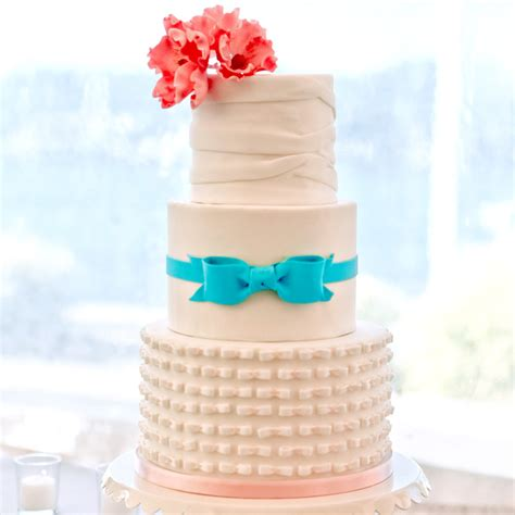 Wedding Cakes You Can Make by Fondant Cakes From Real Weddings Martha Stewart Weddings