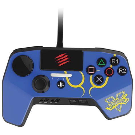 Pro Controller Ps4 Fighting Madcatz mad catz fighter v fightpad pro for ps3 ps4 blue ps4 controllers best buy canada